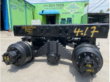2009 MACK CAMEL BACK SUSPENSION 46.000 LBS TANDEMS 4.17
